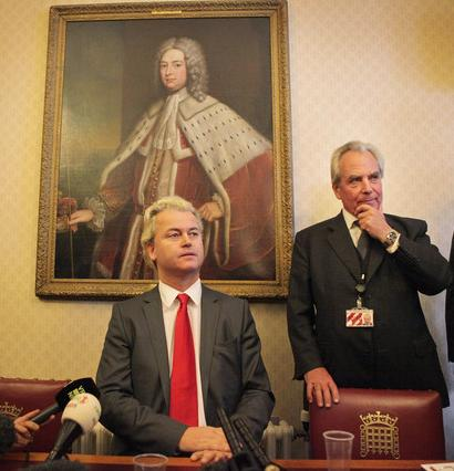 Lord Pearson and Wilders