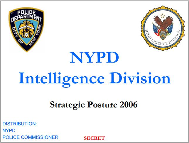 NYPD Intelligence Division document
