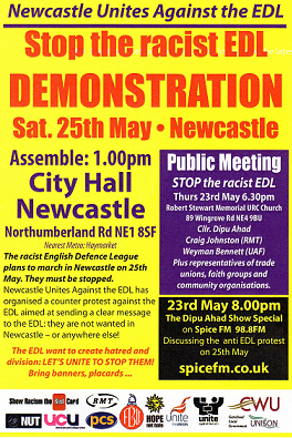 Newcastle Against the EDL