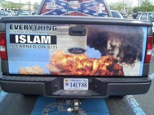 Racist truck