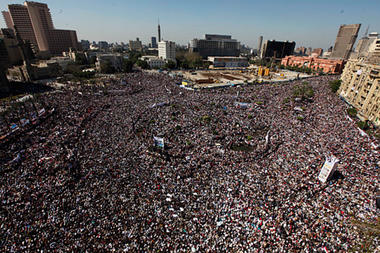 Tahrir Square 18 February 2011