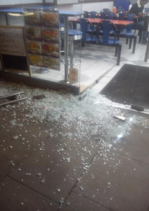 Upton Park shop attacked