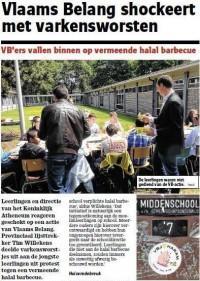 Vlaams Belang BBQ attack