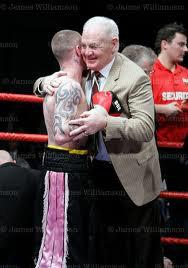 Alex Morrison with Ricky Burns