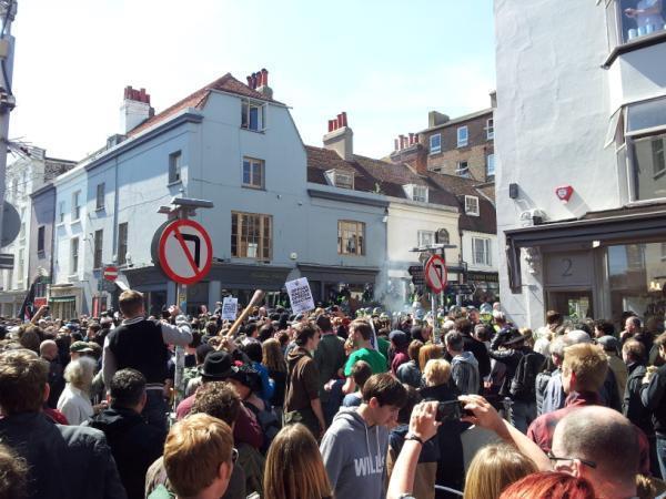 Brighton anti-MFE protest