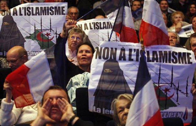 Front National demonstration