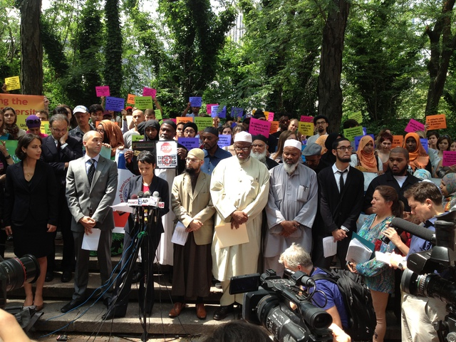Hina Shamsi announces civil rights suit