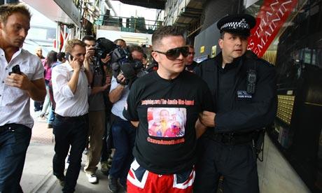 EDL leader arrested
