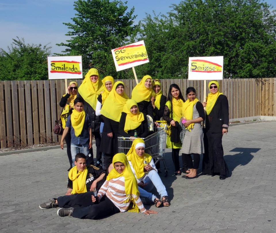 Netto hijab campaigners