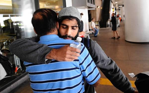 U.S. citizen detained