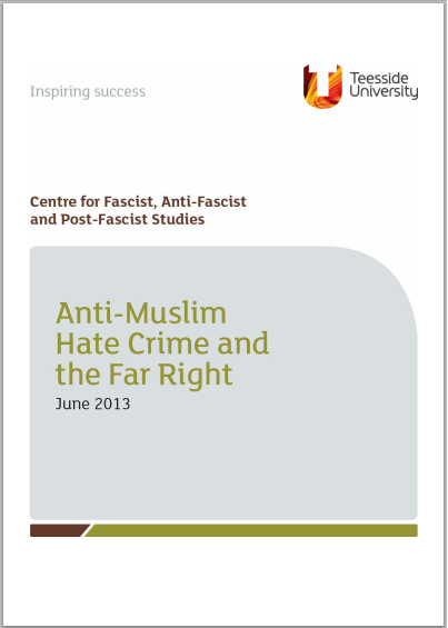 Anti-Muslim Hate Crime and the Far Right