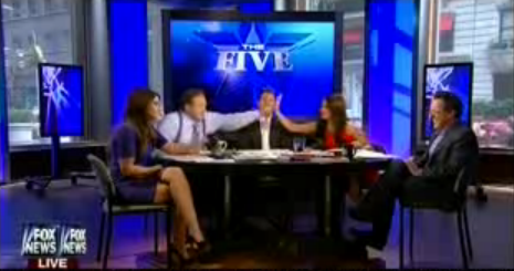 Bob Beckel high five