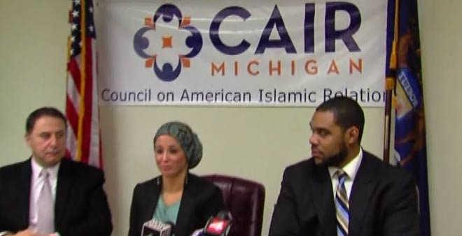 CAIR Michigan press conference
