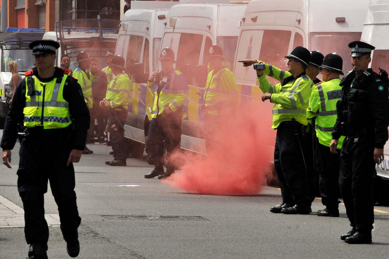 EDL Birmingham 2013