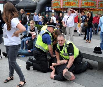EDL arrest Hull