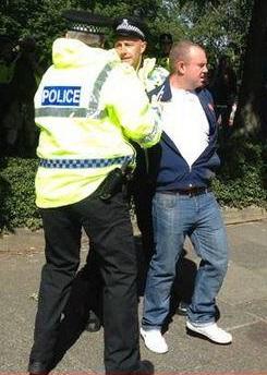 EDL arrest South Shields
