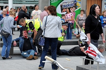 EDL assault victim Hull