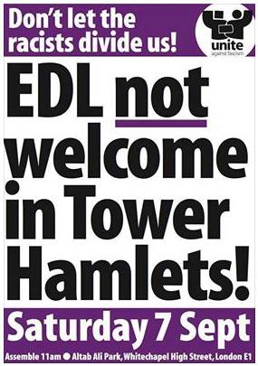 UAF Tower Hamlets demo ad