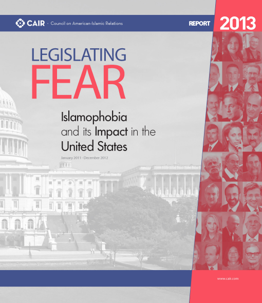 CAIR Legislating Fear cover