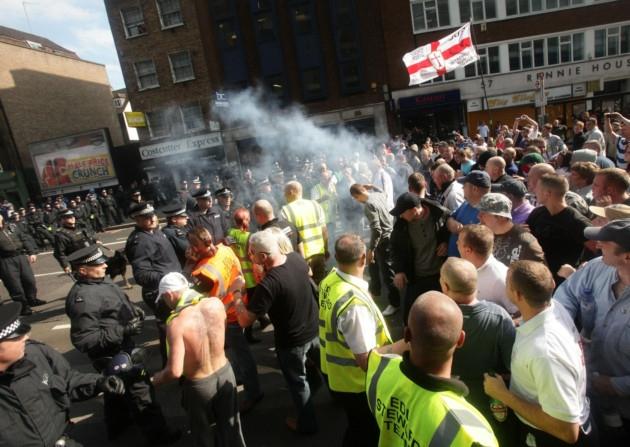 EDL Aldgate 2011
