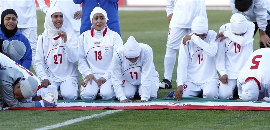Iranian women's soccer team