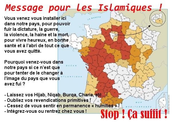 Message pour les Islamiques!
