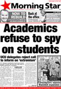 Academics refuse to spy
