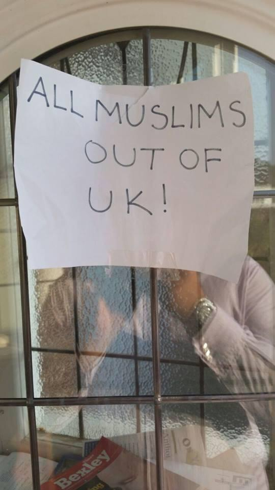 All Muslims out of UK