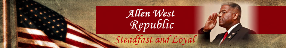 Allen West website banner