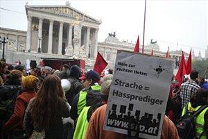 Anti-Strache protest