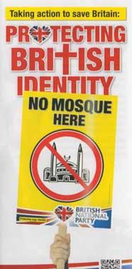 BNP Enfield leaflet