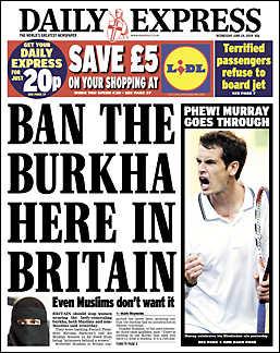 Ban the Burkha