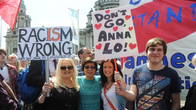 Belfast rally against racism (2)