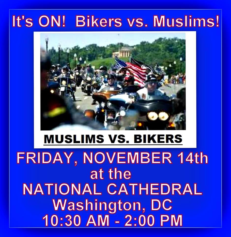 Bikers vs. Muslims