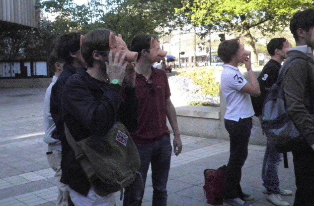 Bloc identitaire in Angers