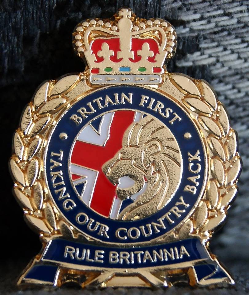 Britain First badge