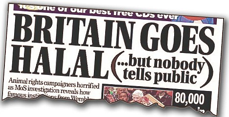 Britain Goes Halal headline