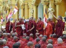 Burmese Buddhist monks