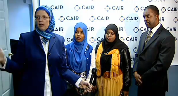 CAIR DHL press conference
