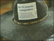 Camden protest hat