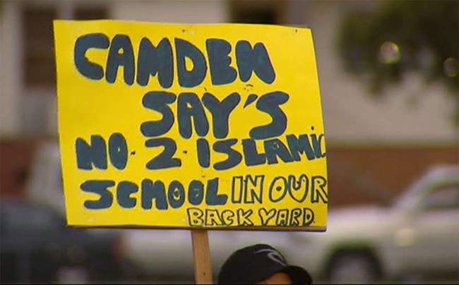 Camden_Islamic_school_protest