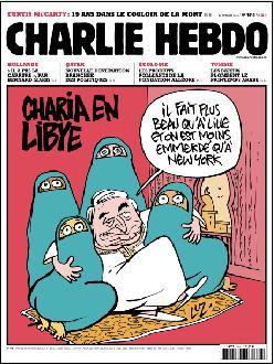 Charlie Hebdo Charia en Libye