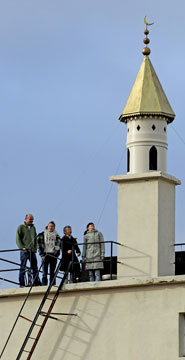 Chimney pot minaret