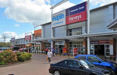 Crossley Retail Park