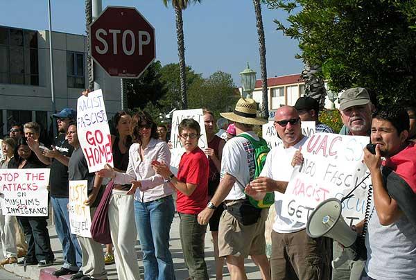 Culver City anti-racists