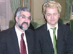 Daniel Pipes with Geert Wilders