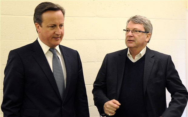 David Cameron and Lynton Crosby