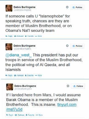 Debra Burlingame tweets