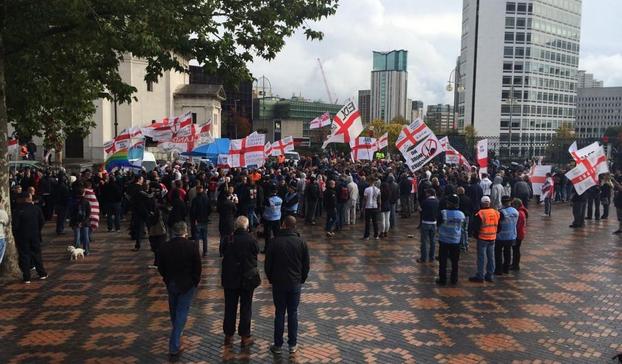 EDL Birmingham 2014 (2)