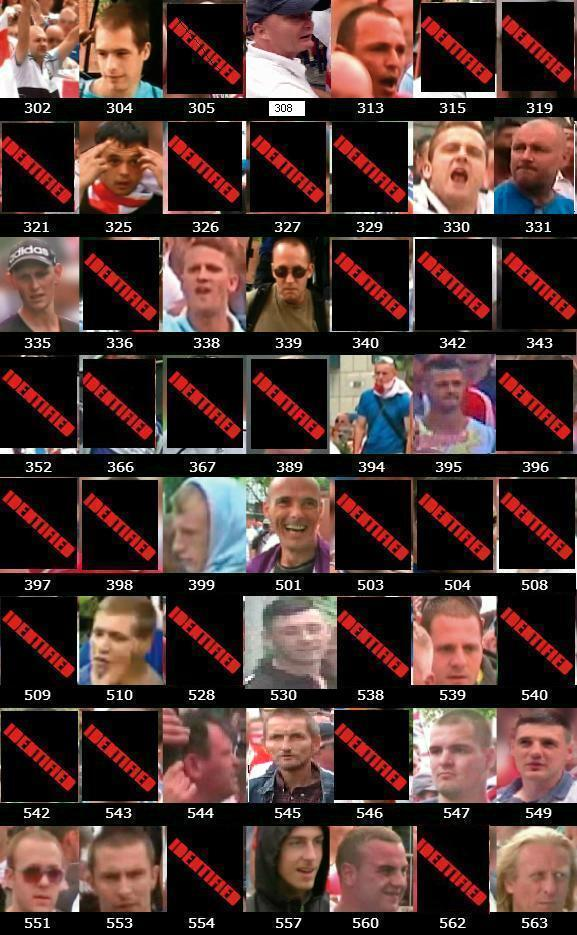 EDL Birmingham protest wanted list updated